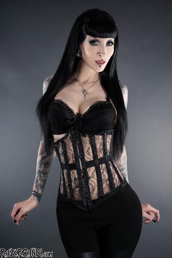 dracula clothing corset