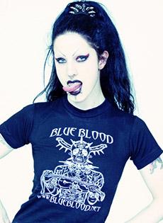 BlueBloods GothicSluts Fetus De Milo Blue Blood t-shirt