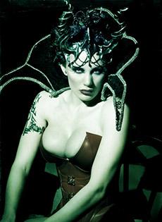 BlueBloods GothicSluts Morrigan Hel Goth Queen