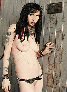 Blue Blood Barely Evil cute troublemakers  Petite punk girl strips in freight elevator